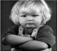 الطفل المتذمر