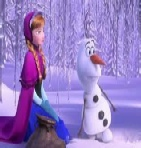 Frozen Anna Baby Olaf