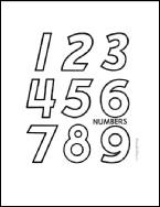 الأرقام الأنجليزية