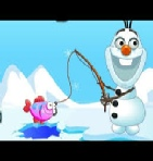 Frozen Olaf Fishing