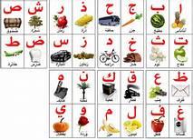 تعليم كتابة الحروف العربيه