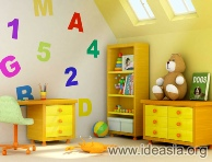 أفكار لديكور غرفة طفلك