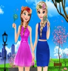 Frozen Spring Dress Up