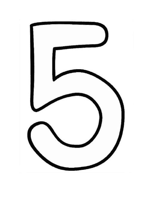 Coloring Pages For Numbers
