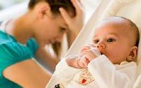 إكتئاب ما بعد الولادة
